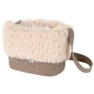 Olala Pets taška Luxury 32 cm světle hnědá - Taška na psa