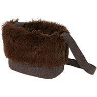 Olala Pets taška Luxury 32 cm tmavě hnědá - Taška na psa