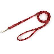 Olala Pets vodítko lanové ploché 14 mm × 150 cm, červené