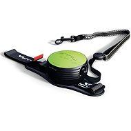 Lishinu2 vodítko s páskem, zelené (6-12kg)