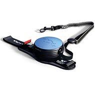 Lishinu2 leash with strap, blue (6-12kg) - Dog Leash