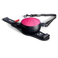 Lishinu2 leash, pink (6-12kg) - Dog Leash