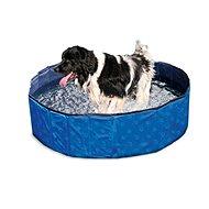 Karlie-Flamingo bazén, modrý/černý, 120×30cm - Bazén pro psy