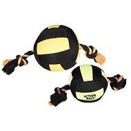 Karlie-Flamingo hračka akční balón, černý/žlutý, 13cm - Míček pro psy