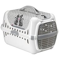 Karlie-Flamingo Crate for Cats Trendy Cats In Love - Cat Carriers