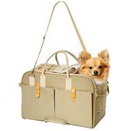 Karlie-Flamingo Portable Bag Beige 45x21x30cm - Dog Carrier Bag