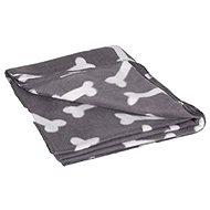 Karlie-Flamingo Fleecová deka šedá kost 150×130cm - Deka pro psa
