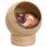 Karlie-Flamingo Proutěný pelech BANANA béžový pro kočky 47×47×6cm - Pelíšek pro kočky