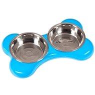 Karlie-Flamingo KOST Stainless-steel Bowl 2x1500ml/49x30x10cm/Blue - Dog Bowl