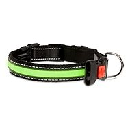 Karlie-Flamingo LED nylon collar green with USB charging, 66cm - Dog Collar