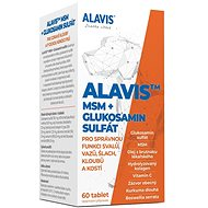 Alavis MSM + Glucosamine Sulfate 60 Tablets - Joint Nutrition for Dogs