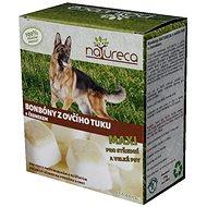 NATURECA bonbóny z ovčího tuku s česnekem maxi 250g - Doplněk stravy pro psy