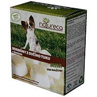NATURECA bonbóny z ovčího tuku s česnekem mini 250g - Doplněk stravy pro psy