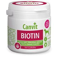 Canvit Biotin flavored for 230g dogs - Food supplement for dogs