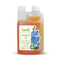 Canvit Linseed oil 250ml - Food supplement for dogs
