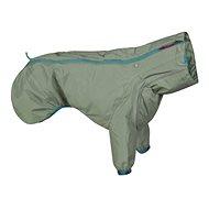 Obleček Hurtta Rain Blocker ECO 50 khaki - Pláštěnka pro psy