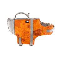 Vesta plavací Hurtta Life Savior 5-10kg oranžová camo - Plovací vesta pro psy
