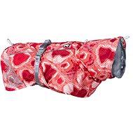 Obleček Hurtta Extreme Warmer červený camo 45 - Obleček pro psy