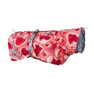 Obleček Hurtta Extreme Warmer červený camo 50 - Obleček pro psy