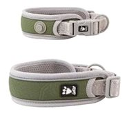 Obojek Hurtta Adventure zelený 25-35cm - Obojek pro psy