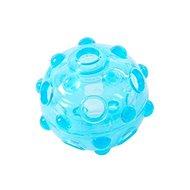 BUSTER Crunch Ball, světle modrá 8,25 cm M - Míček pro psy