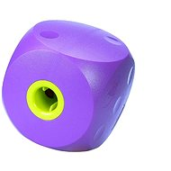 Toy dog BUSTER Food Cube purple 14cm, L - Dog toy