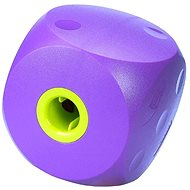 Toy dog BUSTER Mini cube purple 10cm, S - Dog toy