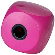 Toy dog BUSTER Mini cube cherry 10cm, S - Dog toy