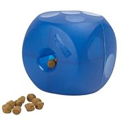 Toy dog BUSTER Soft Mini Cube blue 10cm - Dog toy