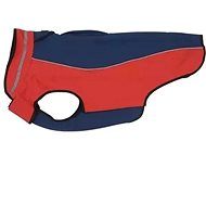 Obleček Softshell  Tm.modrá/Červená 53cm  XL  KRUUSE - Obleček pro psy