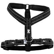 Postroj Y Hurtta Casual černý 80cm - Postroj pro psa
