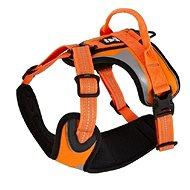 Postroj Hurtta Dazzle 40-45cm oranžový reflexní - Postroj pro psa