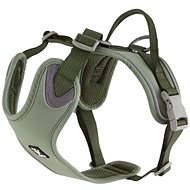 Postroj Hurtta Weekend Warrior ECO zelený 80-100cm