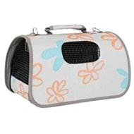 Travel L Flower Bag gray 25x51x33cm Zolux - Dog and cat bag