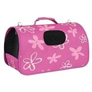 Zolux Flower Travel Bag, Plum,  L 25 x 51 x 33cm - Carrier Bag for Pets