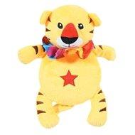 ROUND TIGER plyš žlutá 24 cm Zolux - Hračka pro psy