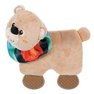 SQUARE BEAR plyš hnědá 21,5 cm Zolux - Hračka pro psy