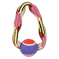 TENNIS BALL ROPE kruh 23 cm Zolux - Hračka pro psy