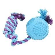 Hračka pro psy ROPE BALL gumový 33cm mix barev Zolux - Hračka pro psy