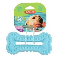 BONE MOOS TPR POP 13 cm modrá Zolux - Hračka pro psy