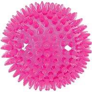 BALL SPIKE TPR POP 8 cm s ostny růž Zolux - Hračka pro psy