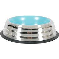 Zolux MERENDA Stainless-steel Non-Slip Bowl, 1l, Blue - Dog bowl