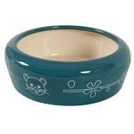 Miska keramická kočka 350ml modrá Zolux