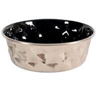 Miska nerez protiskluz DIAMONDS 1,8l černá Zolux - Miska pro psy