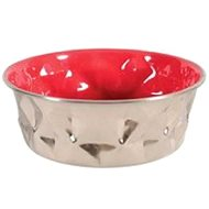 Miska nerez protiskluz DIAMONDS 2,6l červená Zolux - Miska pro psy