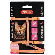 Postroj kočka s vodítkem 1,2m oranžový Zolux - Postroj pro kočku