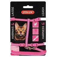Postroj kočka s vodítkem 1,2m růžový Zolux - Postroj pro kočku