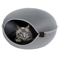 Pelech/domek pro kočky LOUNA šedá Zolux - Pelíšek pro kočky
