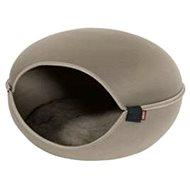 Pelech/domek pro kočky LOUNA béžová Zolux - Pelíšek pro kočky