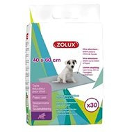 Zolux Absorbent Pads for Puppies 40 x 60cm Ultra-absorbent Pack,  30 pcs - Absorbent pad